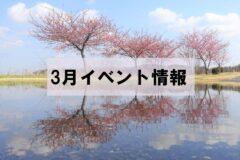 3月イベント情報「手賀沼ぼうさいCafe」